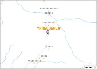 map of Yangou Gala