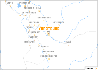 map of Yangyaung
