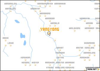 map of Yang Yong
