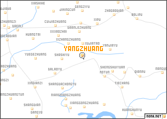 map of Yangzhuang