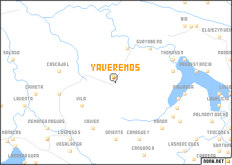 map of Ya Veremos
