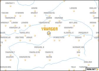 map of Yawng-en