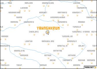 map of Yawng-hkrum