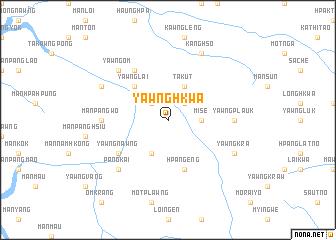 map of Yawnghkwa