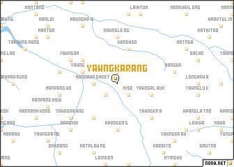 map of Yawngkarang