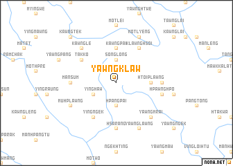 map of Yawngklaw
