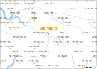 map of Yawng Lai