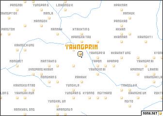 map of Yawngprim