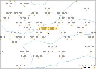 map of Yawngraik