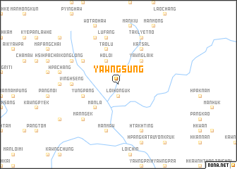map of Yawngsung