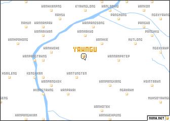 map of Yawng-ū