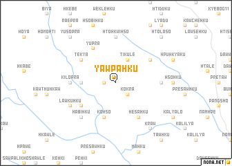 map of Yawpa-hku