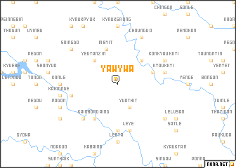 map of Yaw-ywa