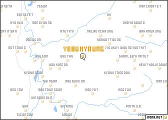 map of Yebumyaung