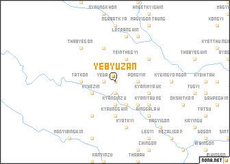 map of Yebyuzan