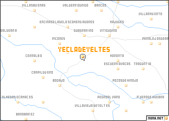 Map Of Yecla Spain.Yecla De Yeltes Spain Map Nona Net