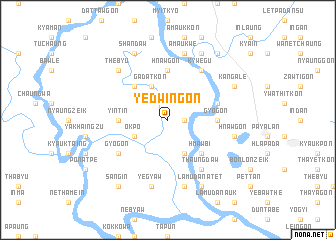 map of Yedwingon