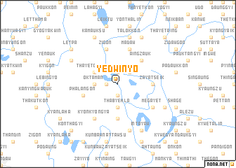 map of Yedwinyo