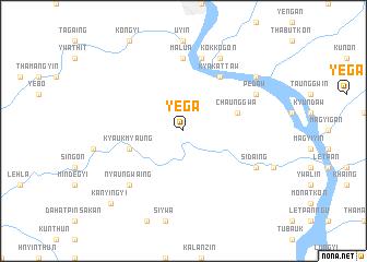 map of Yega