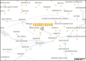 map of Yegor\