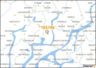 map of Yegyaw