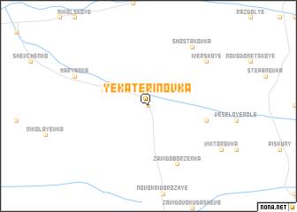 map of Yekaterinovka