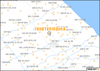 map of Yekaterinovka