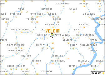 map of Yelein