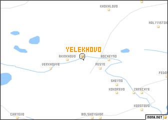 map of Yelekhovo
