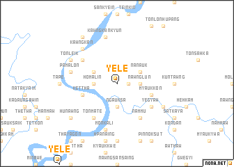 map of Yele