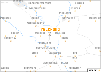 map of Yelkhovo
