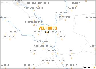 map of Yelkhovo