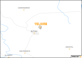 map of Yelkina