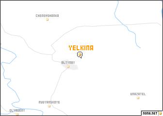map of Yelkina