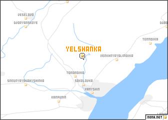 map of Yelshanka