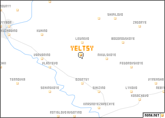map of Yel\