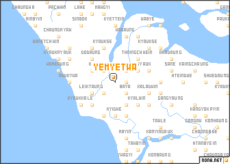 map of Yemyetwa