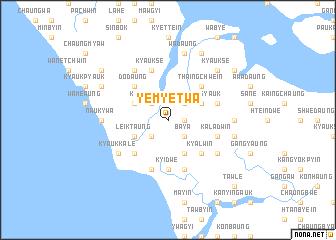 map of Yemyetwa