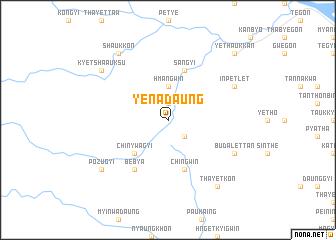 map of Yenadaung