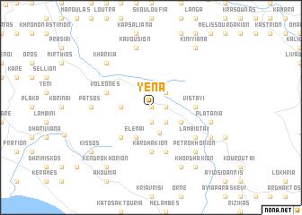 map of Yéna