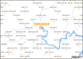 map of Yenghkon