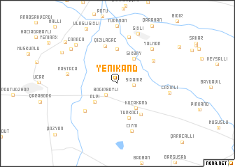 map of Yenikǝnd
