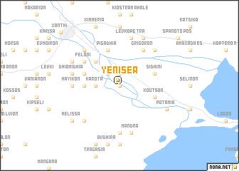 map of Yeniséa