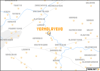 map of Yermolayevo