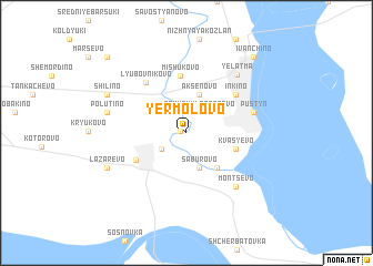map of Yermolovo