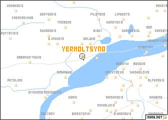map of Yermol\