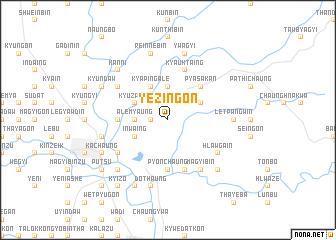 map of Yezingon