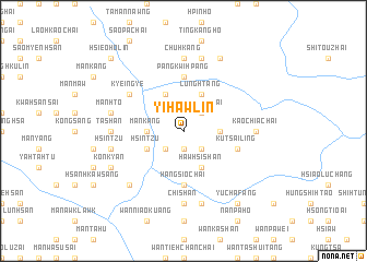 map of Yi-hawlin