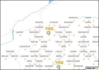 map of Yi-ku