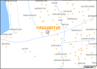 map of Yingguantun